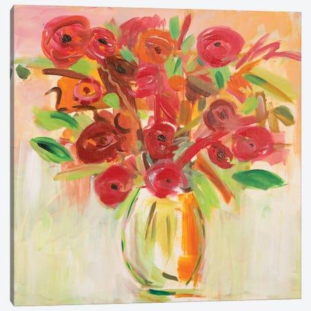 Floral Afternoon Canvas Print #ICS514} by Farida Zaman Canvas Print
