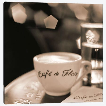 Café, St. Germain des Pres Canvas Print #ICS51} by Alan Blaustein Canvas Art