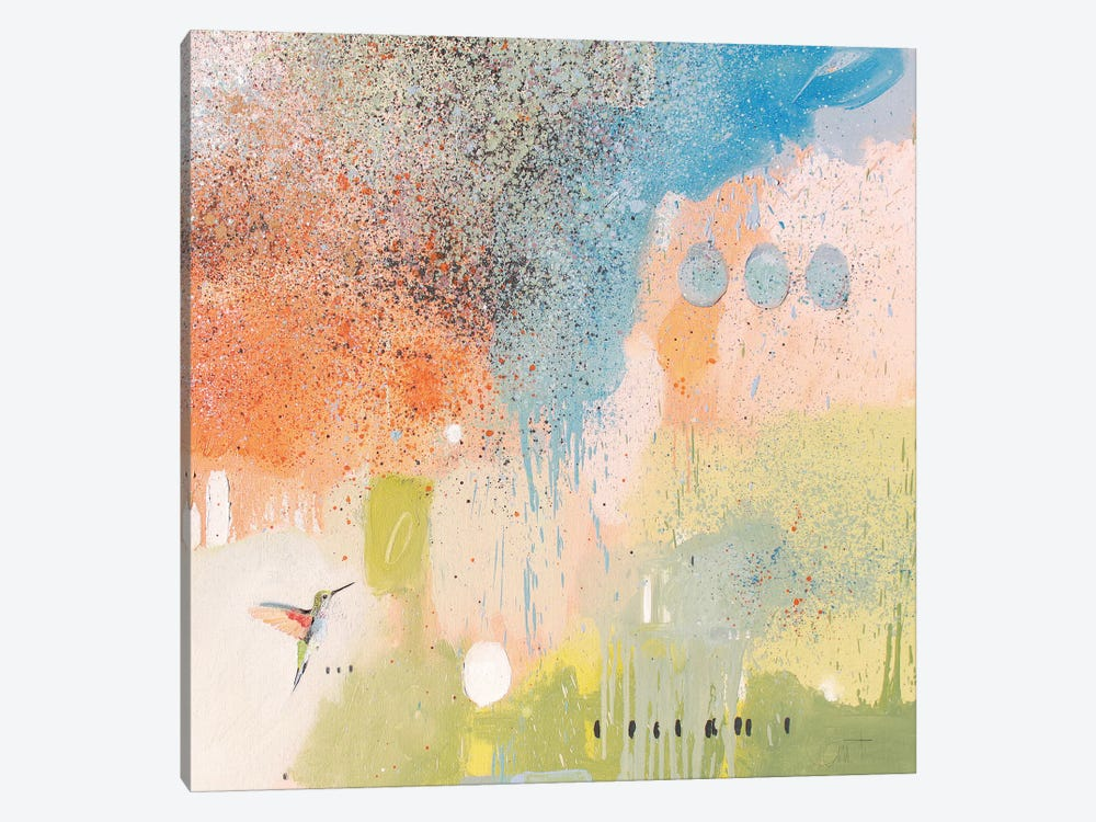 Hummingbird At Home I by Anthony Grant 1-piece Canvas Art