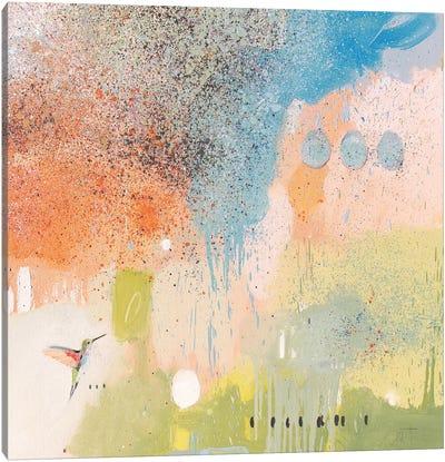 Hummingbird At Home I Canvas Art Print
