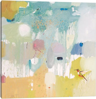 Hummingbird At Home II Canvas Art Print