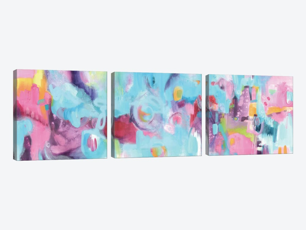 Two Seconds Of Summer by Carolynne Coulson 3-piece Canvas Art