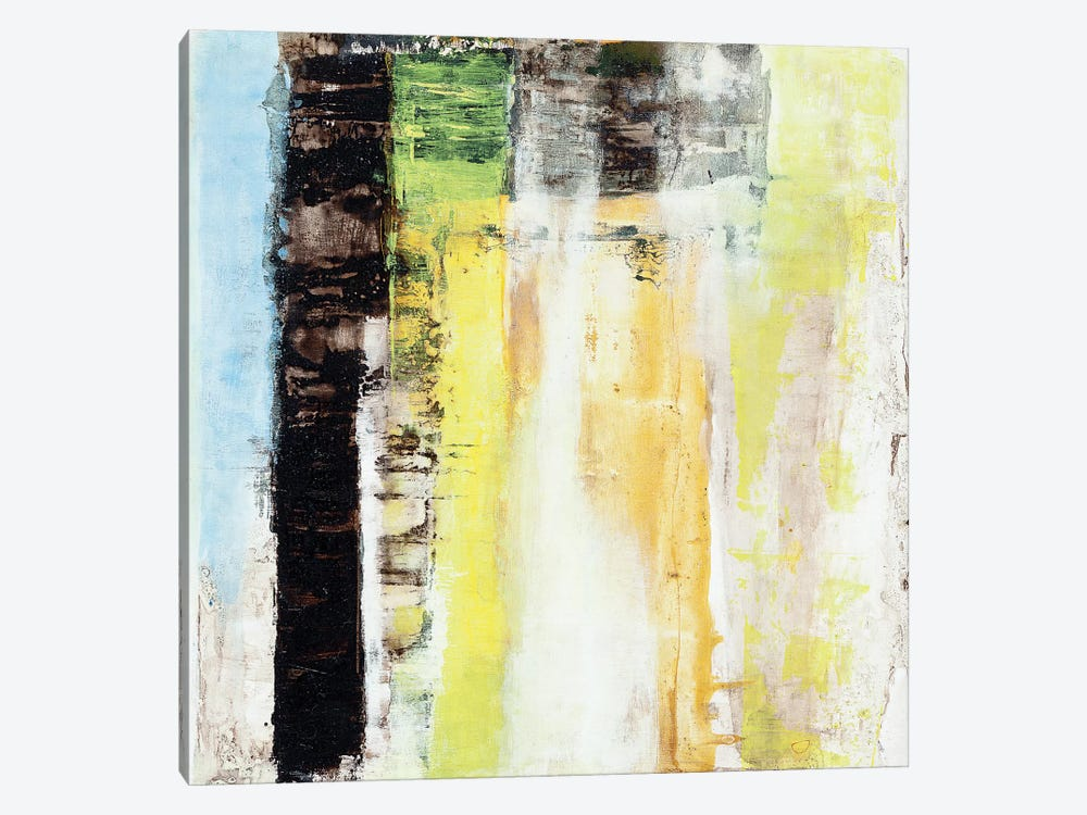 Serie Codigo XI by Ines Benedicto 1-piece Canvas Art