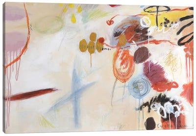 Catching Bubbles Canvas Art Print