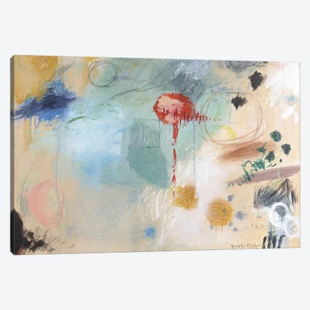 Red Light Canvas Print #ICS550} by Kyoko Fischer Canvas Artwork