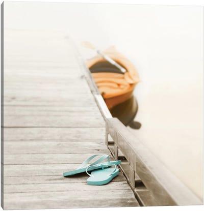 Summer At The Lake Canvas Print #ICS553