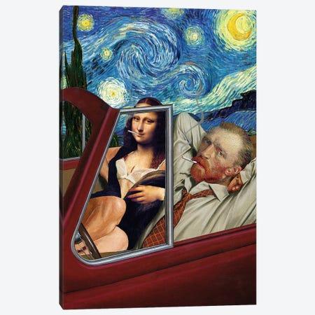 Starry Night Canvas Print #ICS561} by Barry Kite Canvas Art Print