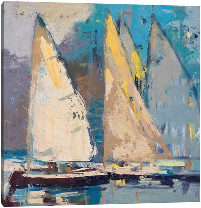 Breeze, Sail and Sky Canvas Art Print