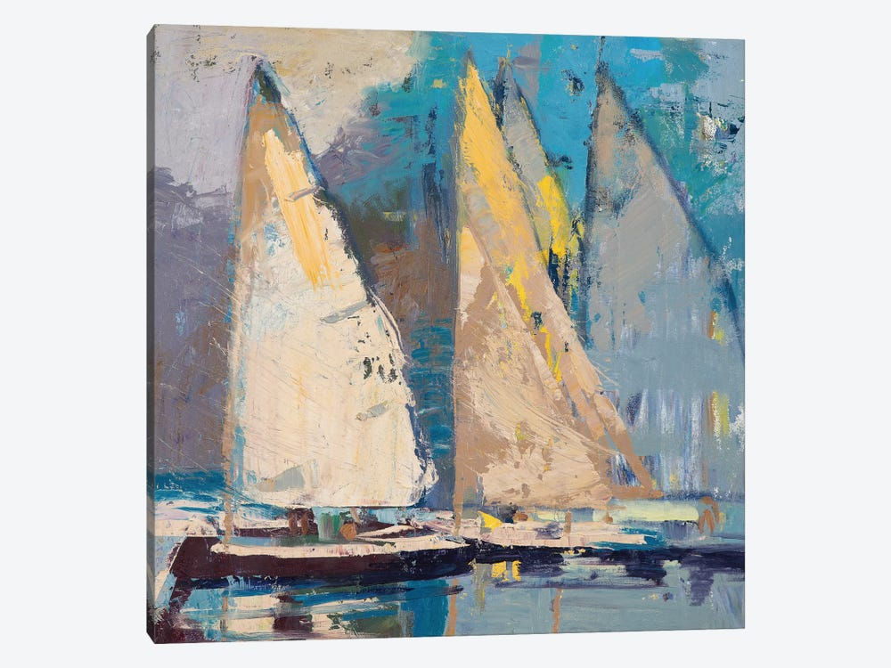 Breeze, Sail and Sky by Beth A. Forst 1-piece Art Print
