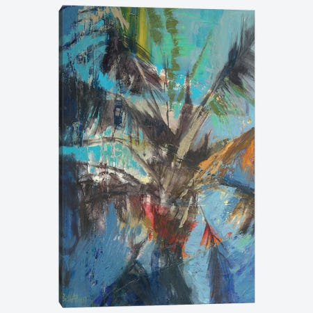 Palm Sunday Canvas Print #ICS568} by Beth A. Forst Canvas Art Print