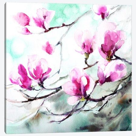 Magnolia Spring Canvas Print #ICS569} by CanotStop Art Print