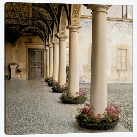 Villa Portico No. 1 Canvas Print #ICS56} by Alan Blaustein Art Print