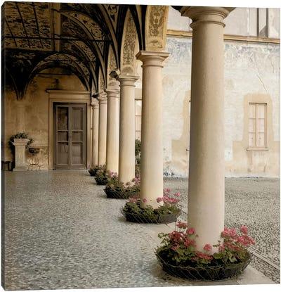 Villa Portico No. 1 Canvas Print #ICS56
