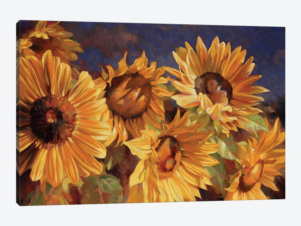 Sunflower by Emma Styles 1-piece Canvas Art