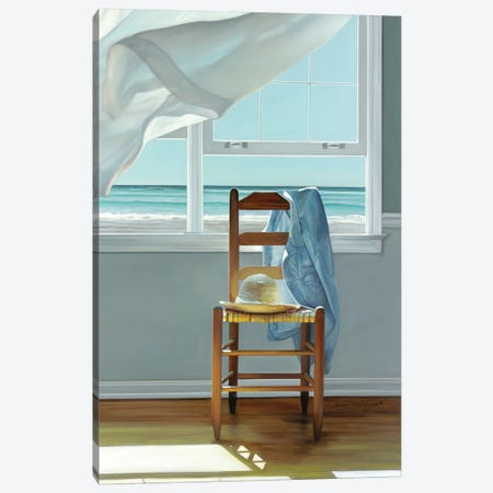 Deep Breathing Canvas Print #ICS578} by Karen Hollingsworth Canvas Artwork