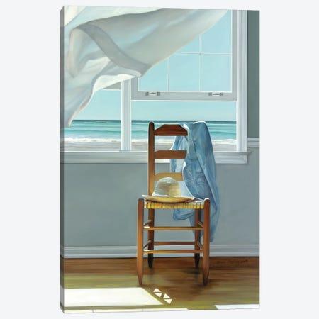 Deep Breathing Canvas Print #ICS578} by Karen Hollingsworth Canvas Artwork