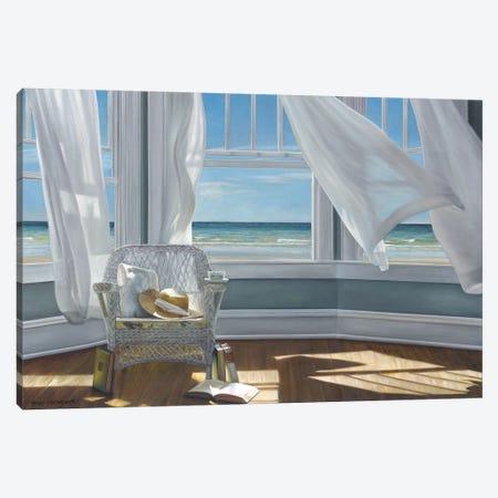 Gentle Reader Canvas Print #ICS579} by Karen Hollingsworth Canvas Wall Art
