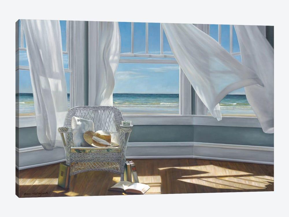 Gentle Reader by Karen Hollingsworth 1-piece Canvas Artwork
