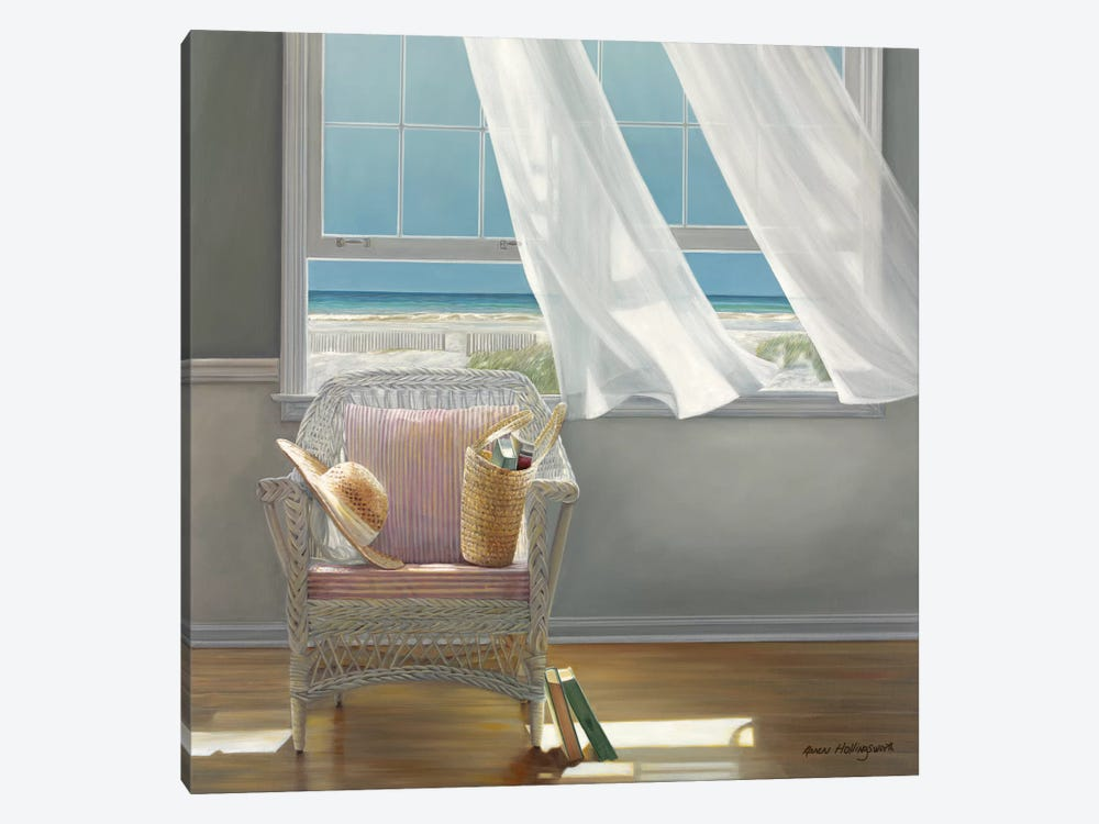 Getaway by Karen Hollingsworth 1-piece Canvas Artwork