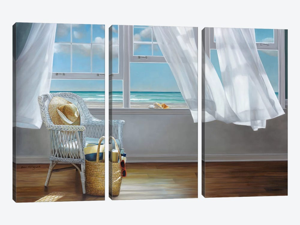 Sense Memory by Karen Hollingsworth 3-piece Canvas Wall Art