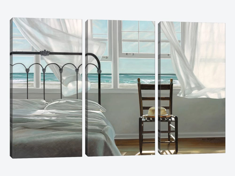 The Dream of Water by Karen Hollingsworth 3-piece Canvas Print