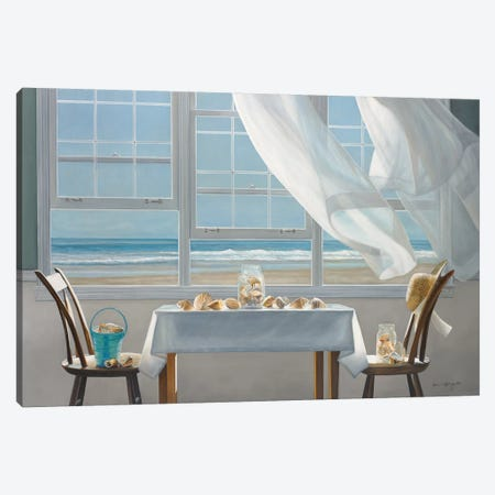 The Shell Collectors Canvas Print #ICS586} by Karen Hollingsworth Canvas Art