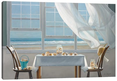 The Shell Collectors Canvas Art Print