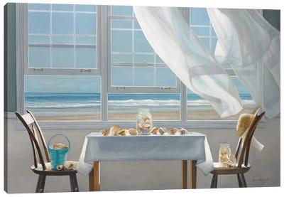 The Shell Collectors Canvas Art Print