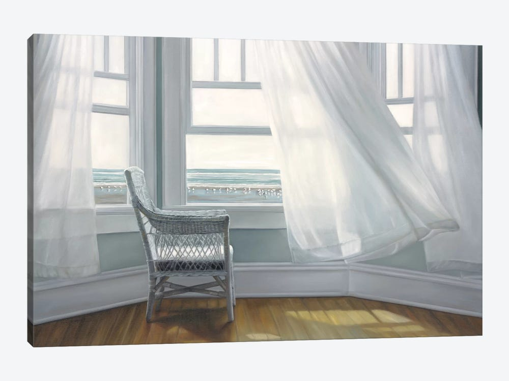 Waiting to Fly by Karen Hollingsworth 1-piece Canvas Art Print