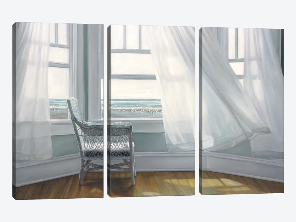Waiting to Fly by Karen Hollingsworth 3-piece Canvas Art Print