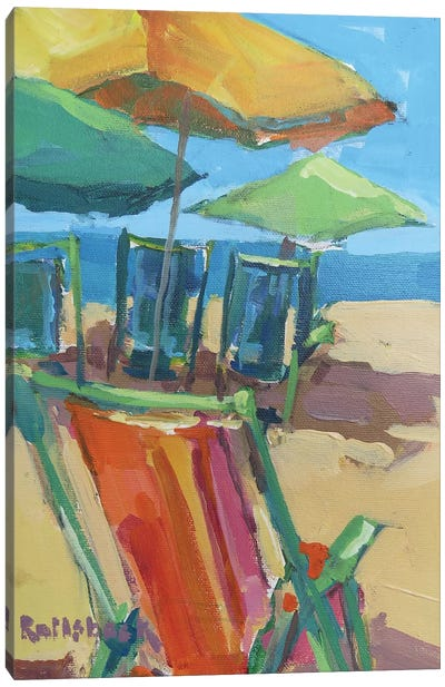 Beach Days Canvas Print #ICS589