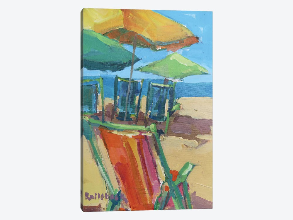 Beach Days by Page Pearson Railsback 1-piece Canvas Print