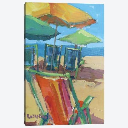 Beach Days Canvas Print #ICS589} by Page Pearson Railsback Canvas Print