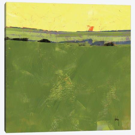 Hot Sky Over Lazy Fields Canvas Print #ICS590} by Paul Bailey Canvas Wall Art