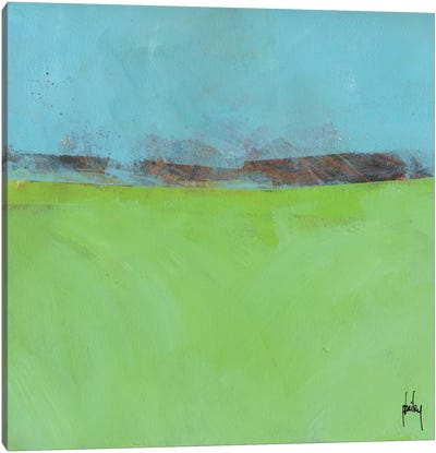 Low Distant Hills Canvas Art Print
