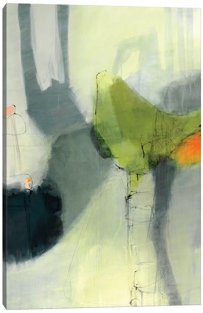 Green Bird Canvas Print #ICS595