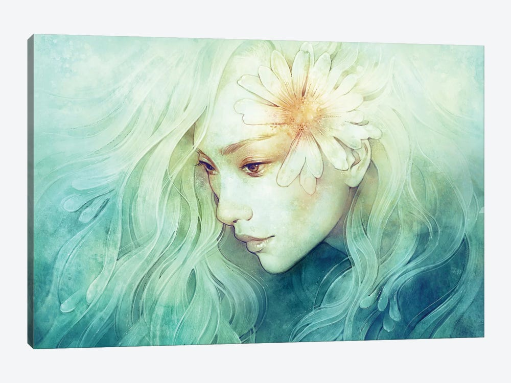 April by Anna Dittmann 1-piece Canvas Print