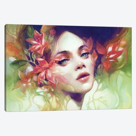 August Canvas Print #ICS604} by Anna Dittmann Canvas Art Print