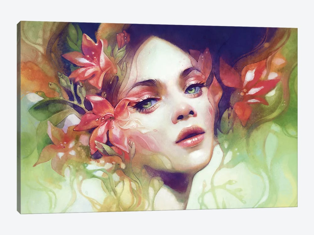 August by Anna Dittmann 1-piece Canvas Artwork