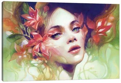 August Canvas Art Print