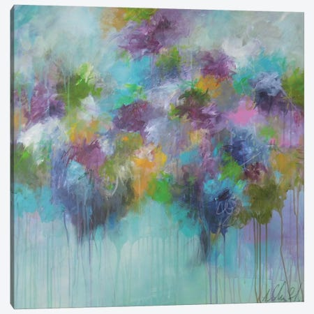 Don't Hold Back The Feeling Canvas Print #ICS609} by Anna Schueler Canvas Artwork
