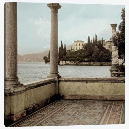 Giardino Vista Varenna Canvas Print #ICS61} by Alan Blaustein Canvas Print