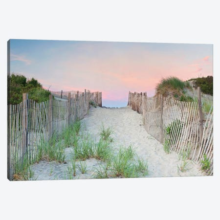 Crescent Beach Path Canvas Print #ICS621} by Katherine Gendreau Canvas Art
