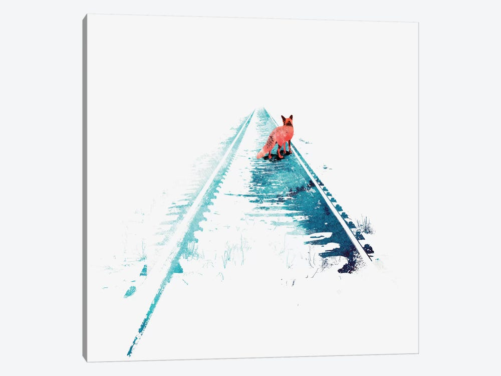 From Nowhere to Nowhere by Robert Farkas 1-piece Art Print