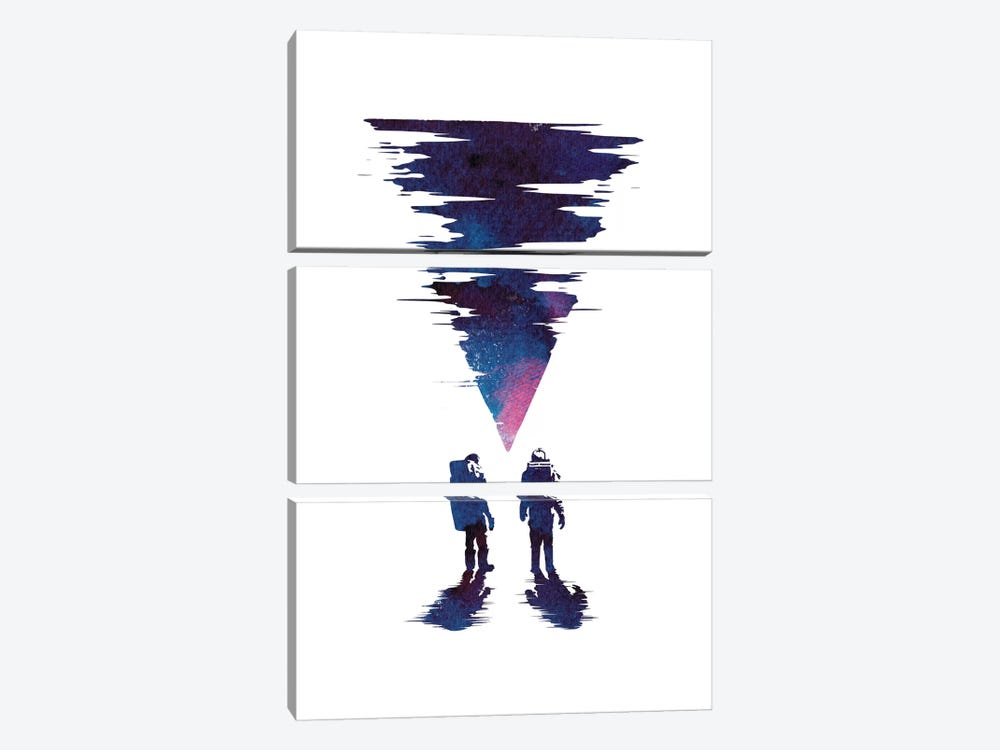 The Thing by Robert Farkas 3-piece Canvas Artwork