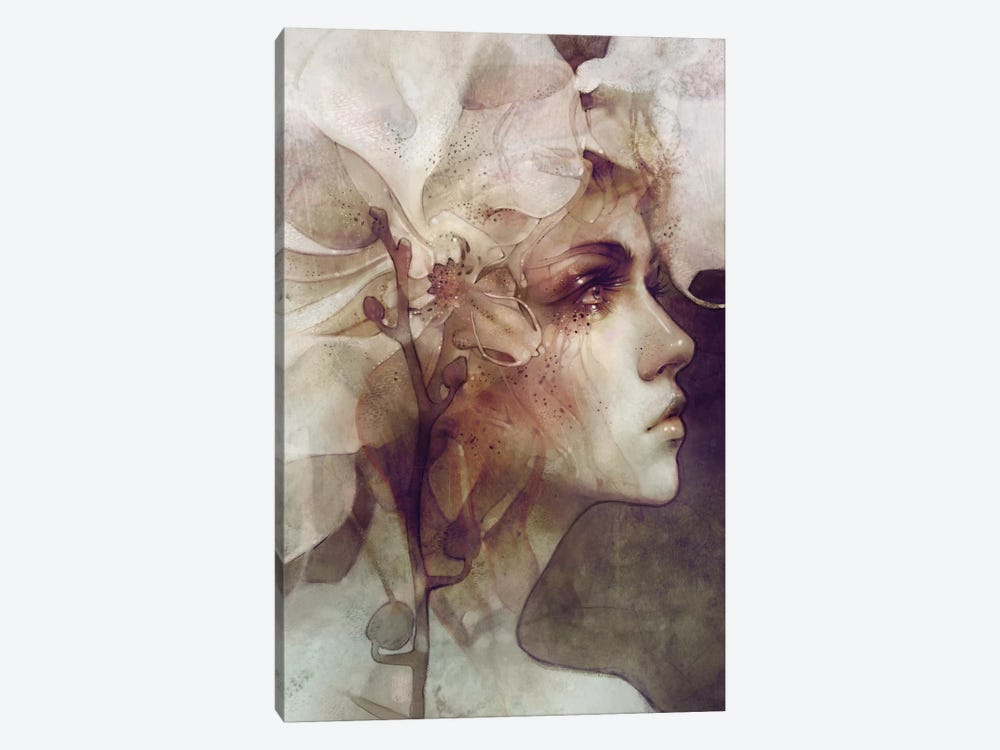 Petal 1-piece Canvas Print