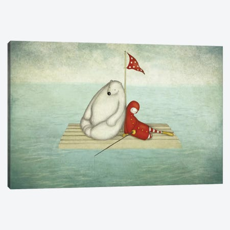 Calm Water Canvas Print #ICS635} by Majali Canvas Wall Art