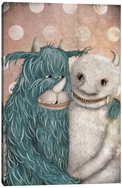 Monster Love Canvas Art Print