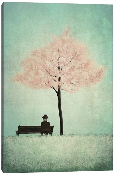 The Cherry Tree - Spring Canvas Art Print