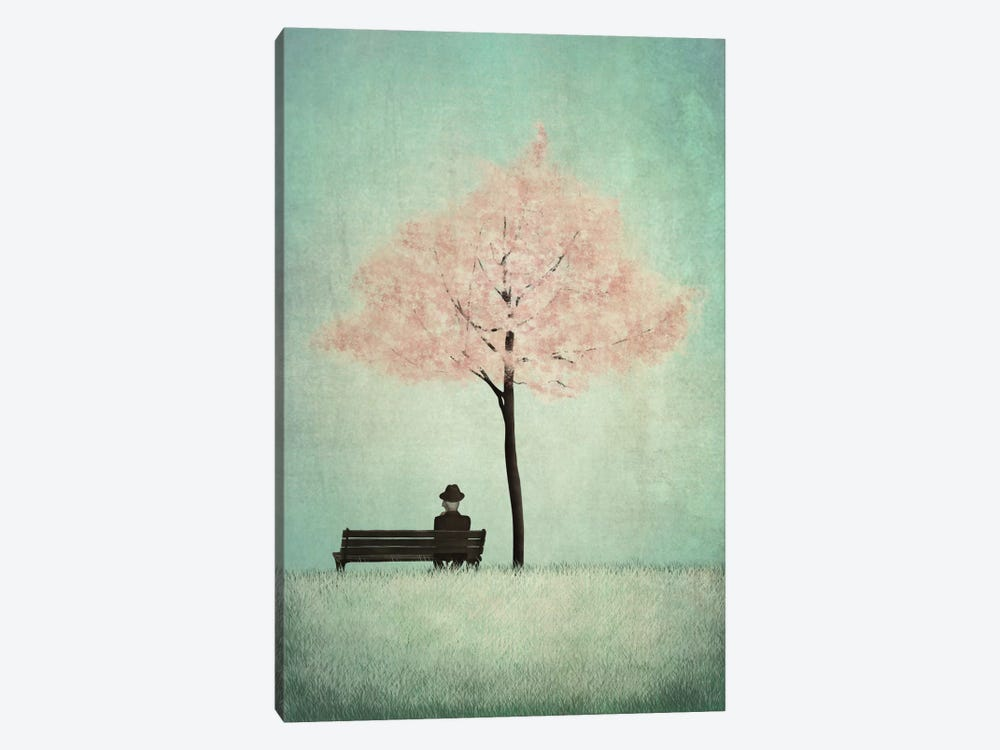The Cherry Tree - Spring by Majali 1-piece Canvas Wall Art